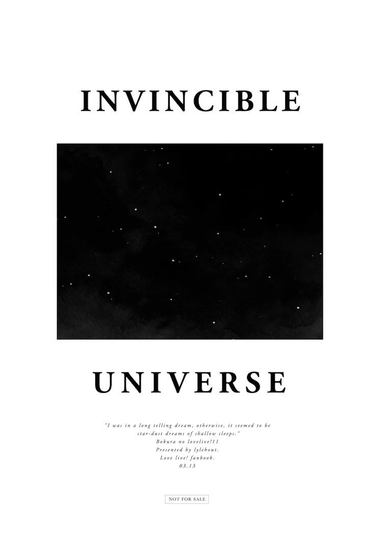 INVINCIBLE UNIVERSE